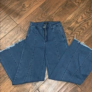 Jean flare pants